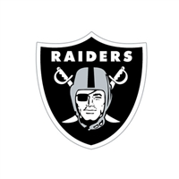Oakland Raiders Diecut Window Film