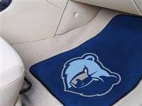Memphis Grizzlies Car Mats Printed Carpet 2 Piece Set - Special Order