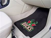 Milwaukee Bucks Car Mats Printed Carpet 2 Piece Set - Special Order