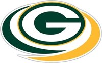 Green Bay Packers Diecut Window Film