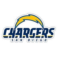 San Diego Chargers Diecut Window Film