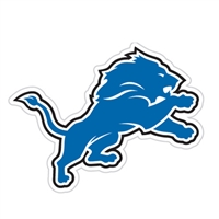Detroit Lions Diecut Window Film