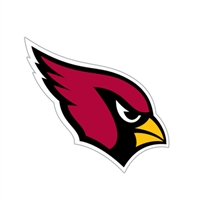 Arizona Cardinals Diecut Window Film