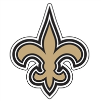 New Orleans Saints Diecut Window Film