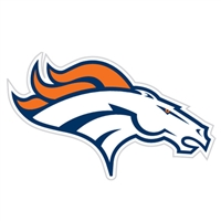 Denver Broncos Diecut Window Film