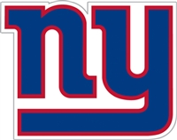 New York Giants Diecut Window Film