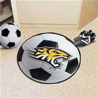 "Towson University Soccer Ball Mat 27"" diameter"