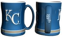 Kansas City Royals Coffee Mug - 14oz Sculpted Relief