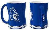 Duke Blue Devils Coffee Mug - 14oz Sculpted Relief