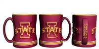 Iowa State Cyclones Coffee Mug - 14oz Sculpted Relief