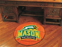 "George Mason Patriots Basketball Rug 29"" diameter"