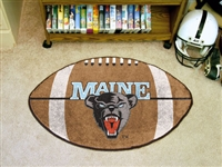 "Maine Black Bears Football Rug 22""x35"""