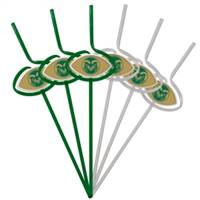 Colorado State Rams Team Sipper Straws