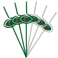 North Dakota State Bison Team Sipper Straws