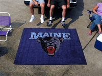 "Maine Black Bears Tailgater Rug 60""x72"""