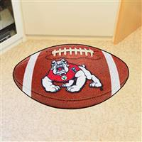 "Fresno State Bulldogs Football Rug 22""x35"""
