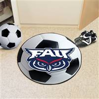 "Florida Atlantic University Soccer Ball Mat 27"" diameter"