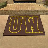 "University of Wyoming All-Star Mat 33.75""x42.5"""