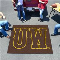 "University of Wyoming Tailgater Mat 59.5""x71"""