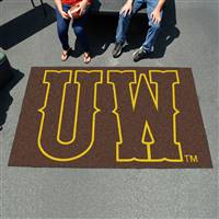 "University of Wyoming Ulti-Mat 59.5""x94.5"""