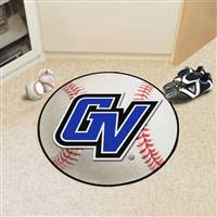 "Grand Valley State University Baseball Mat 27"" diameter"