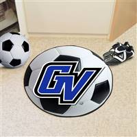 "Grand Valley State University Soccer Ball Mat 27"" diameter"