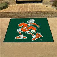 "Miami Hurricanes All-Star Rug34""x45"""
