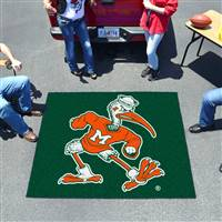 "Miami Hurricanes Tailgater Rug 60""x72"""