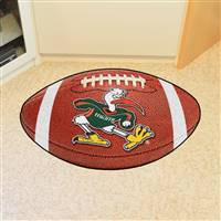 "Miami Hurricanes Football Rug 22""x35"""