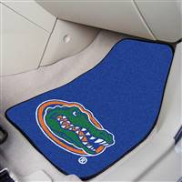 "Florida Gators 2-piece Carpeted Car Mats 18""x27"""