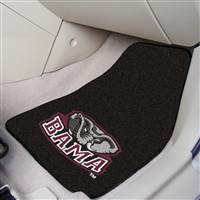 "Alabama Crimson Tide 2-piece Carpeted Car Mats 18""x27"""