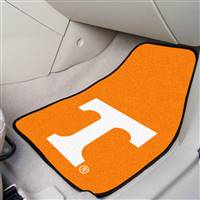"Tennessee Volunteers 2-piece Carpeted Car Mats 18""x27"""