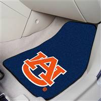 "Auburn Tigers 2-piece Carpeted Car Mats 18""x27"""