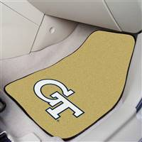 "Georgia Tech 2-pc Carpet Car Mat Set 17""x27"""