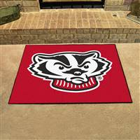 "Wisconsin Badgers All-Star Rug 34""x45"""