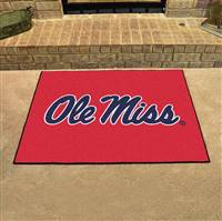 "University of Mississippi (Ole Miss) All-Star Mat 33.75""x42.5"""