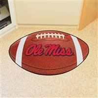 "Ole Miss Rebels Football Rug 22""x35"""