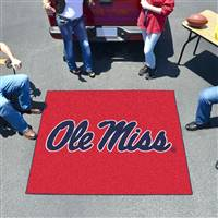 "Ole Miss Rebels Tailgater Rug 60""x72"""