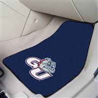 "Gonzaga Bulldogs 2-piece Carpeted Car Mats 18""x27"""