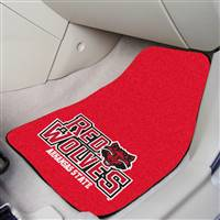 "Arkansas State Red Wolves 2-piece Carpeted Car Mats 18""x27"""