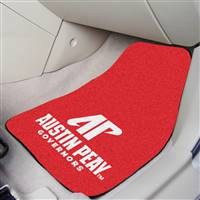 "Austin Peay State Governors 2-piece Carpeted Car Mats 18""x27"""
