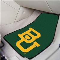 "Baylor Bears 2-piece Carpeted Car Mats 18""x27"""