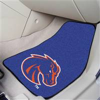 "Boise State Broncos 2-piece Carpeted Car Mats 18""x27"""