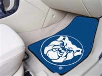 "Butler Bulldogs 2-piece Carpeted Car Mats 18""x27"""