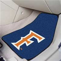 "Cal State Fullerton Titans 2-piece Carpeted Car Mats 18""x27"""