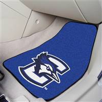 "Creighton Blue Jays 2-piece Carpeted Car Mats 18""x27"""