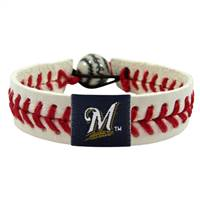 Milwaukee Brewers Bracelet Classic Baseball