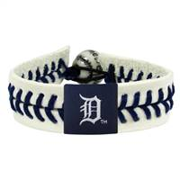 Detroit Tigers Bracelet Genuine Baseball