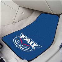 "Florida Atlantic University 2-pc Carpet Car Mat Set 17""x27"""