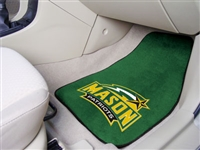 "George Mason Patriots 2-piece Carpeted Car Mats 18""x27"""